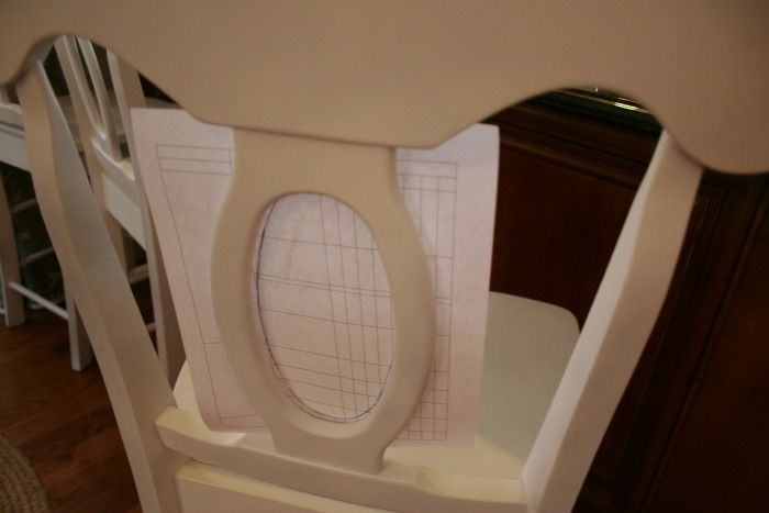 how to upholster an open back chair