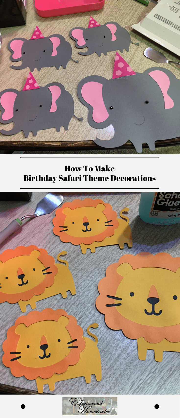 How To Make Birthday Safari Theme Decorations Safari Theme