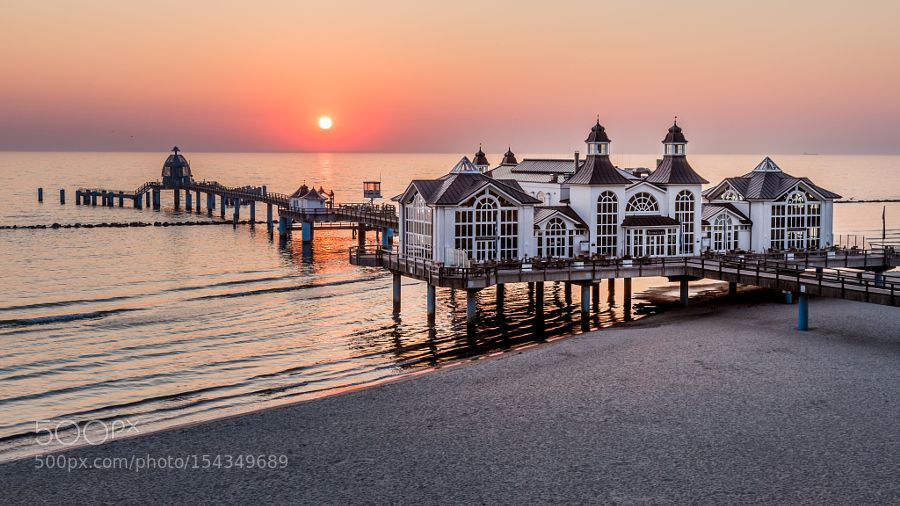 Sunrise in Sellin by ClausWagner1.