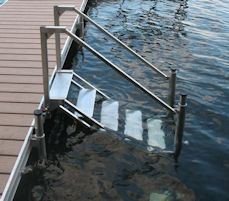 Dock Stairs Pier Stairs Water Stairs Lake Stairs Lake