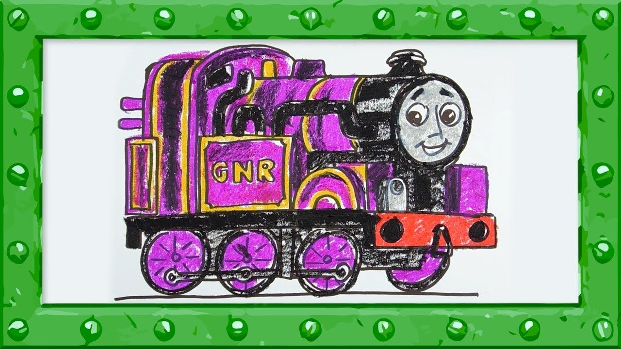 Let's Draw and Color Ryan ♦ Thomas and Friends ♦ Drawing and Colors Lear...