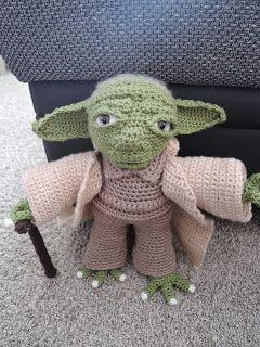 Yarnyessi Häkeln Mit Herz Yoda Crochet Häkeln Häkeln