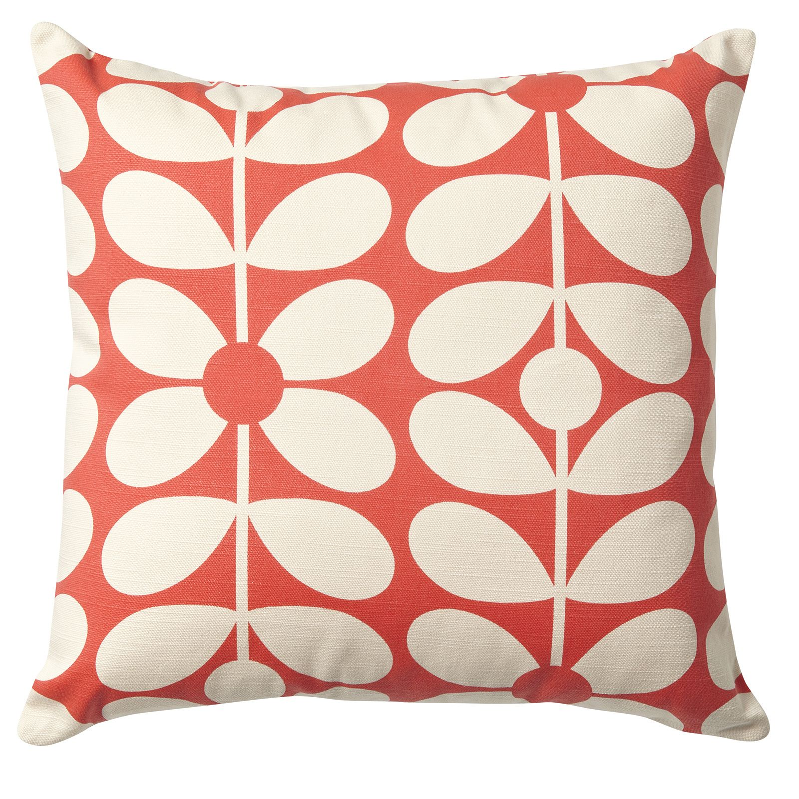 Orla Kiely Sixties Stem cushion with zip to close. Adds a