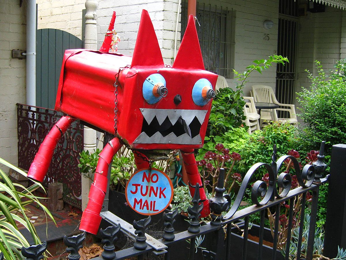 Homemade garden art ideas - Homemade Mailbox Ideas 25 Homemade Mailboxes We D Be Terrified To Stick Letters Into