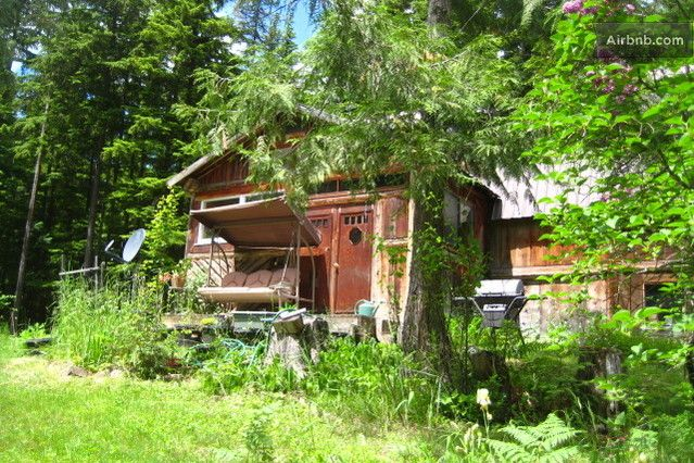 Our family cabin is on Air B & B now.  We are big time!  Secluded Cozy Log Cabin-Lake Nearby in Clark Fork from $70 per night