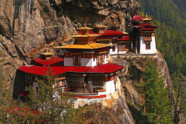 Taktshang - Tigernest-Kloster