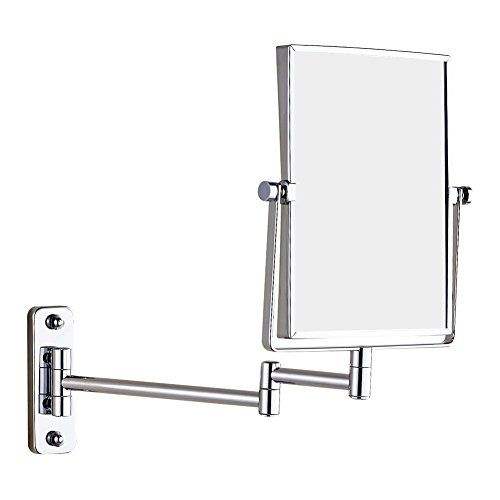 Gurun Wall Mount Rectangular Makeup Mirror 3x Magnification Chrome14013x Check This Awesome Product By Going To The Link At Vanity Mirror Wall Mount Mirror