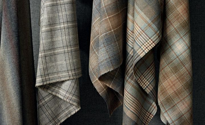 Caledonia - Wool Plaids - Kirkby Design : Durable High Performance Fabrics