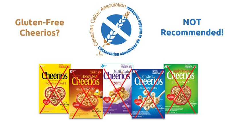 Glutenfree cheerios not by the cca gluten