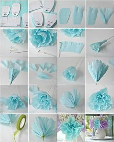Crepe Paper Peony Flower Tutorial Paper Flowers Craft Paper