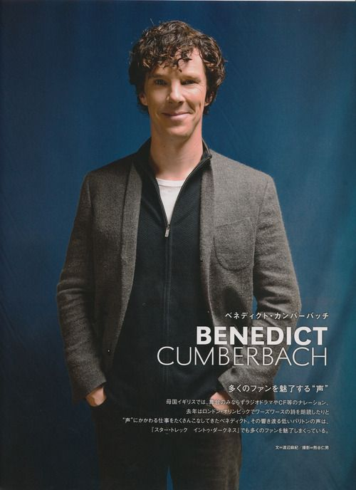 Benedict Cumberbatch in FLIX Plus October issue: Damon Lindelof (writer/producer) revealed that they made a decision to put his character to cryo-sleep instead of killing him off after realizing how good Benedict was playing the role. He hopes they can write a script in the near future to bring him back. THAT'S how fantastic of an actor he is.
