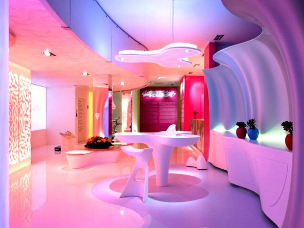 Pin by Ingrid on Aesthetic | Pinterest | Karim rashid, Restaurant ...