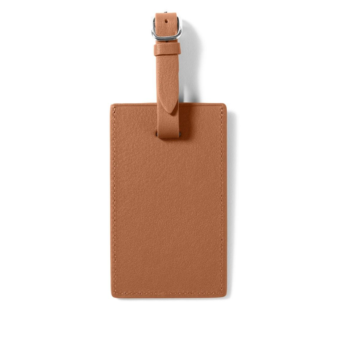 Leatherology Cognac Standard Luggage Tag
