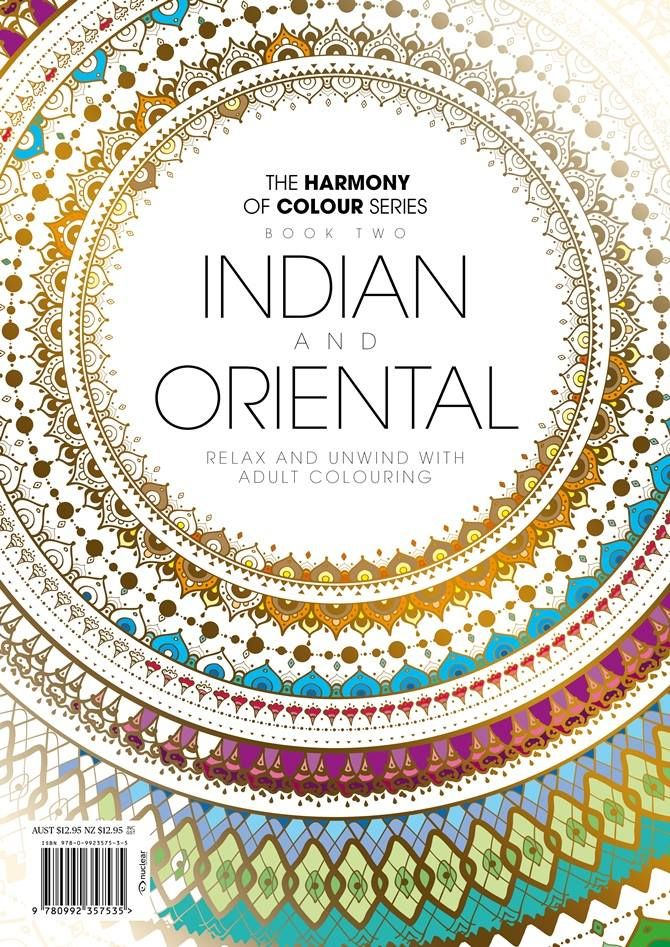 Indian And Oriental Adult Colouring Book