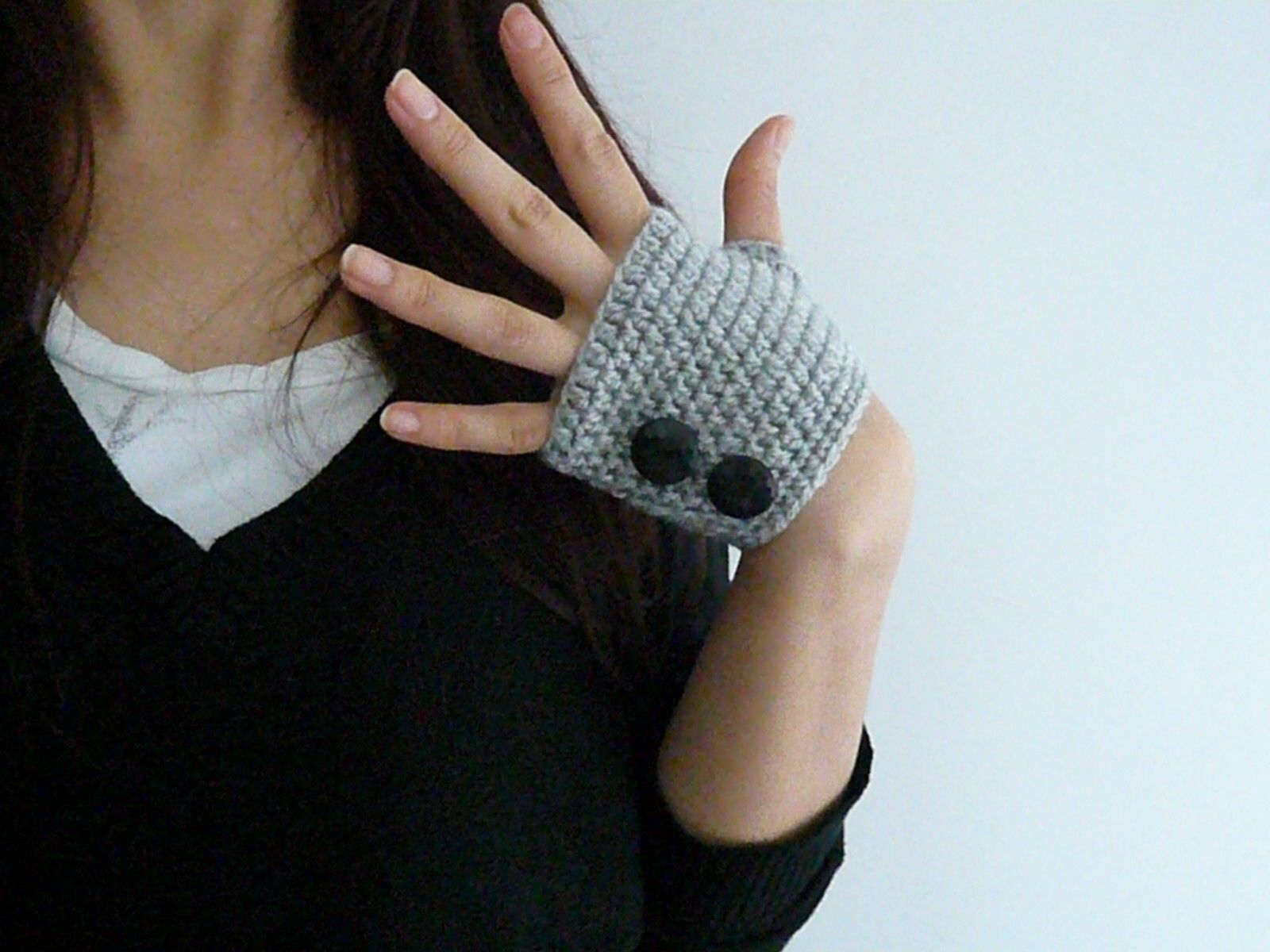 Easy crochet mittens, free easy crochet patterns, baby mittens ...