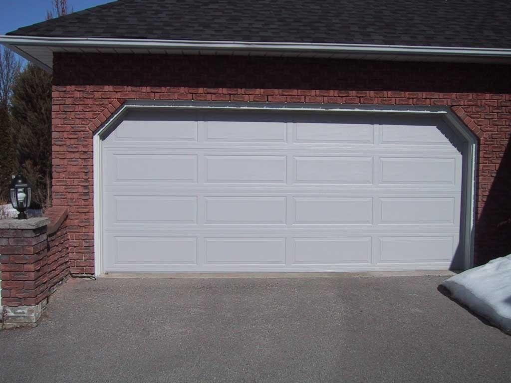What is the standard garage door size Lighthouse Garage