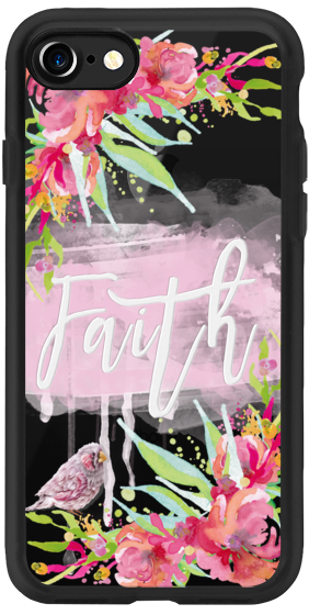 Casetify iPhone 7 Classic Grip Case - Faith II by Li Zamperini Art #Casetify