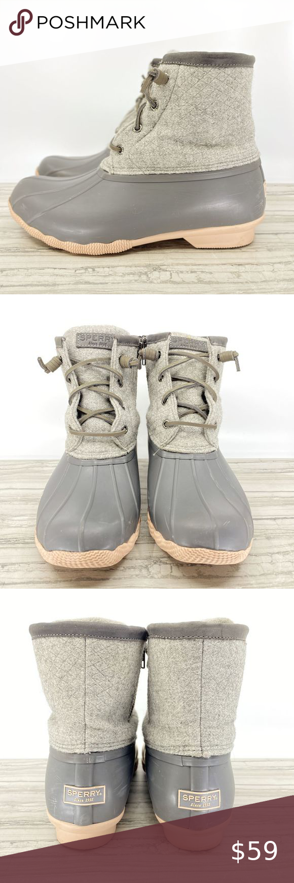 Sperry Saltwater Wool In 2020  Sperrys, Boots, Clothes Design-7635