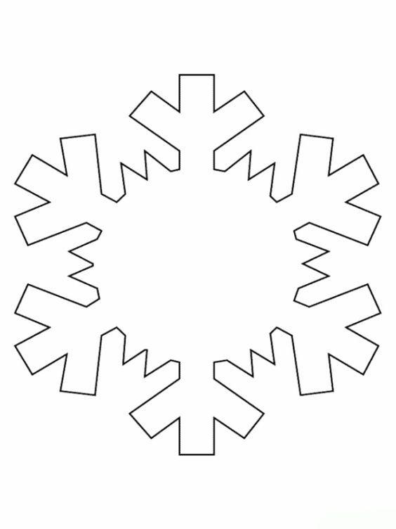 malvorlagen schneeflocke ausmalbilder 3  schneeflocke