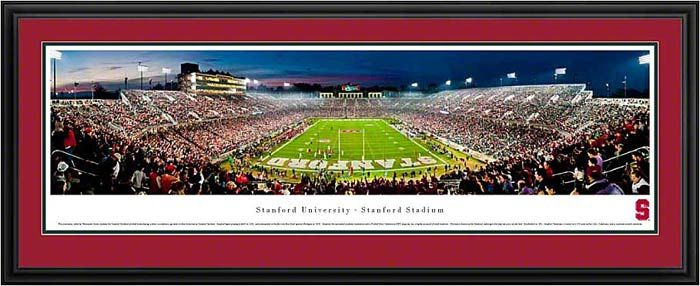 Stanford Cardinal Framed Panoramic Poster Print Stanford Stadium End Zone Tampa Bay Buccaneers Tampa Bay Buccaneers Football Panoramic Pictures