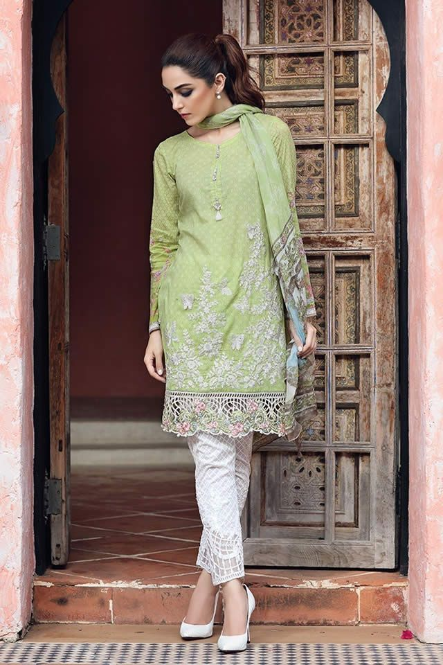 2364019571 Maria B has rolled out her Festival Collection for Eid 2017. The designer  has chosen the gorgeous Maya Ali to portray the spirit of their Eid  collection.