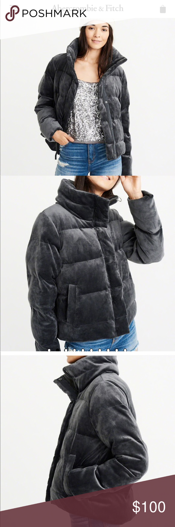 Abercrombie Velvet Ultra Mini Puffer Puffer Outfit Abercrombie And Fitch Jackets Clothes Design [ 1740 x 580 Pixel ]