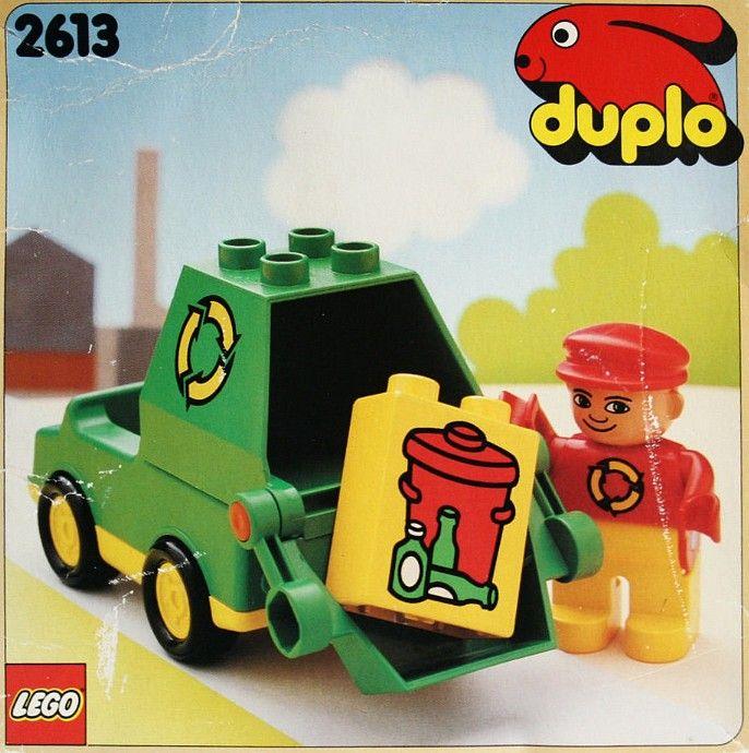 2613 1 Garbage Truck Lego Duplo Sets Garbage Truck