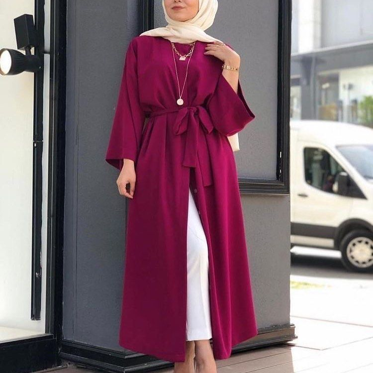Fashion Design On Instagram بشت ساده عملي يناسب كلشي متوفر ب٧ الوان اسود بيجي بنفسجي خردلي ماروني ز In 2020 Muslim Fashion Outfits Hijab Fashion Modest Fashion Hijab
