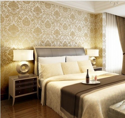 Bedroom Wallpaper Divisoria Bedroom Sitting Room Design Ideas Accent Wall Ideas For Small Bedroom Spiderman Bedroom Accessories: Classic Retro European Woven Wallpaper For Walls Roll The
