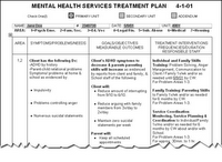 treatment plan assignment