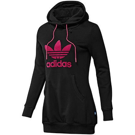 Adidas hoodie, love the grey and pink | clothes ...
