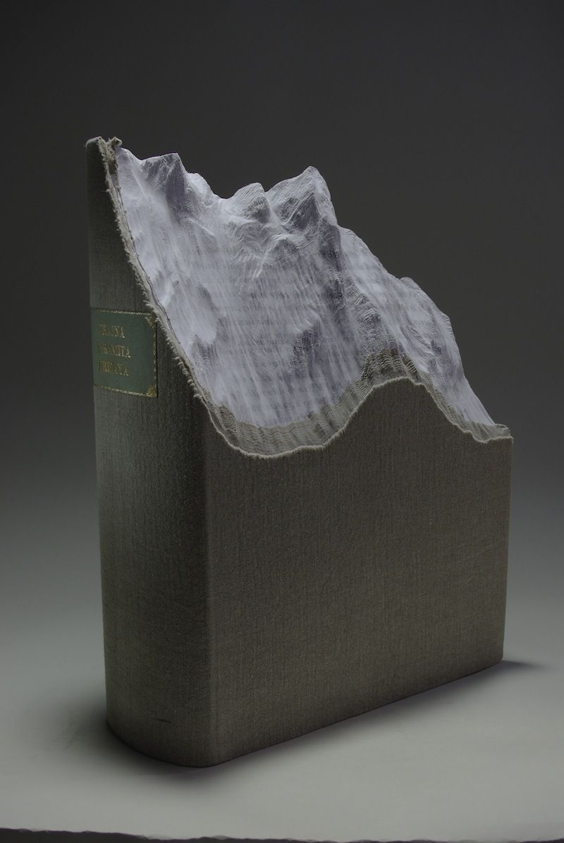 Eleven Astonishing Works of Art Made from Books | New Republic