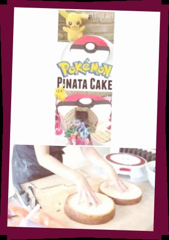 DIY Pokemon Cake Pinata - Apfel Kuchen