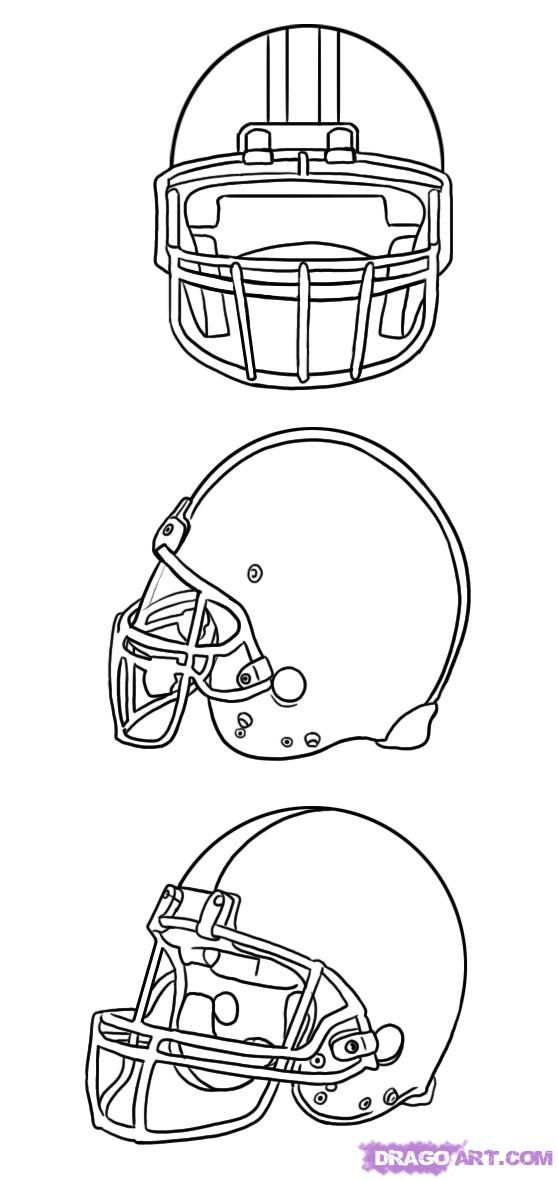 football helmet template front google search use for redesign