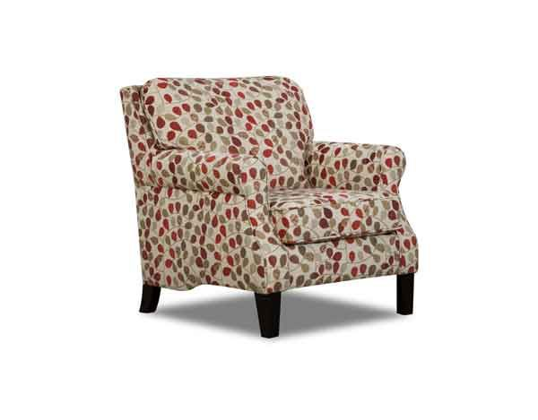 Simmons San Benito Accent Chair Bayberry Rouge Furniture Tidy