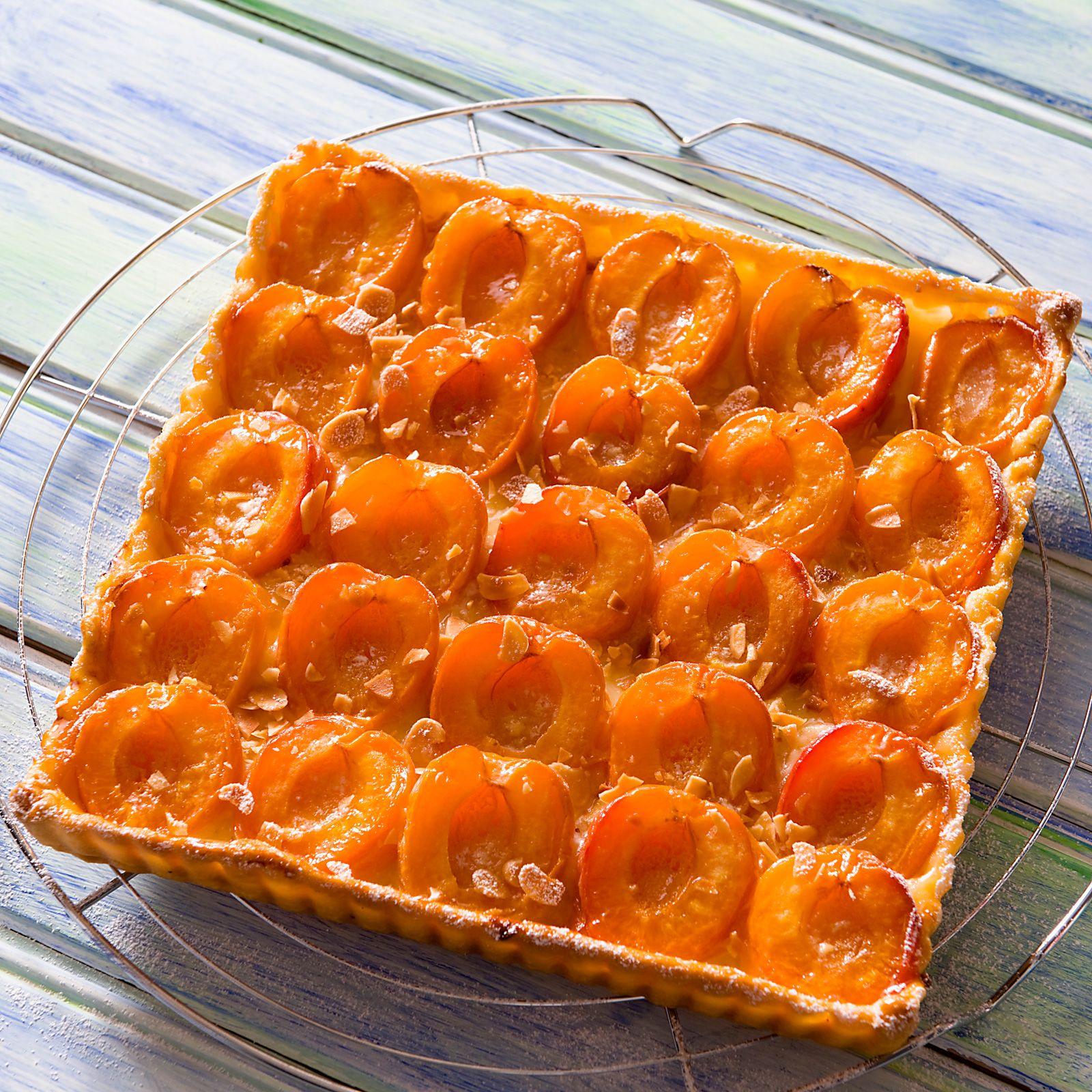 Tarte aux abricots et aux amandes - Recettes