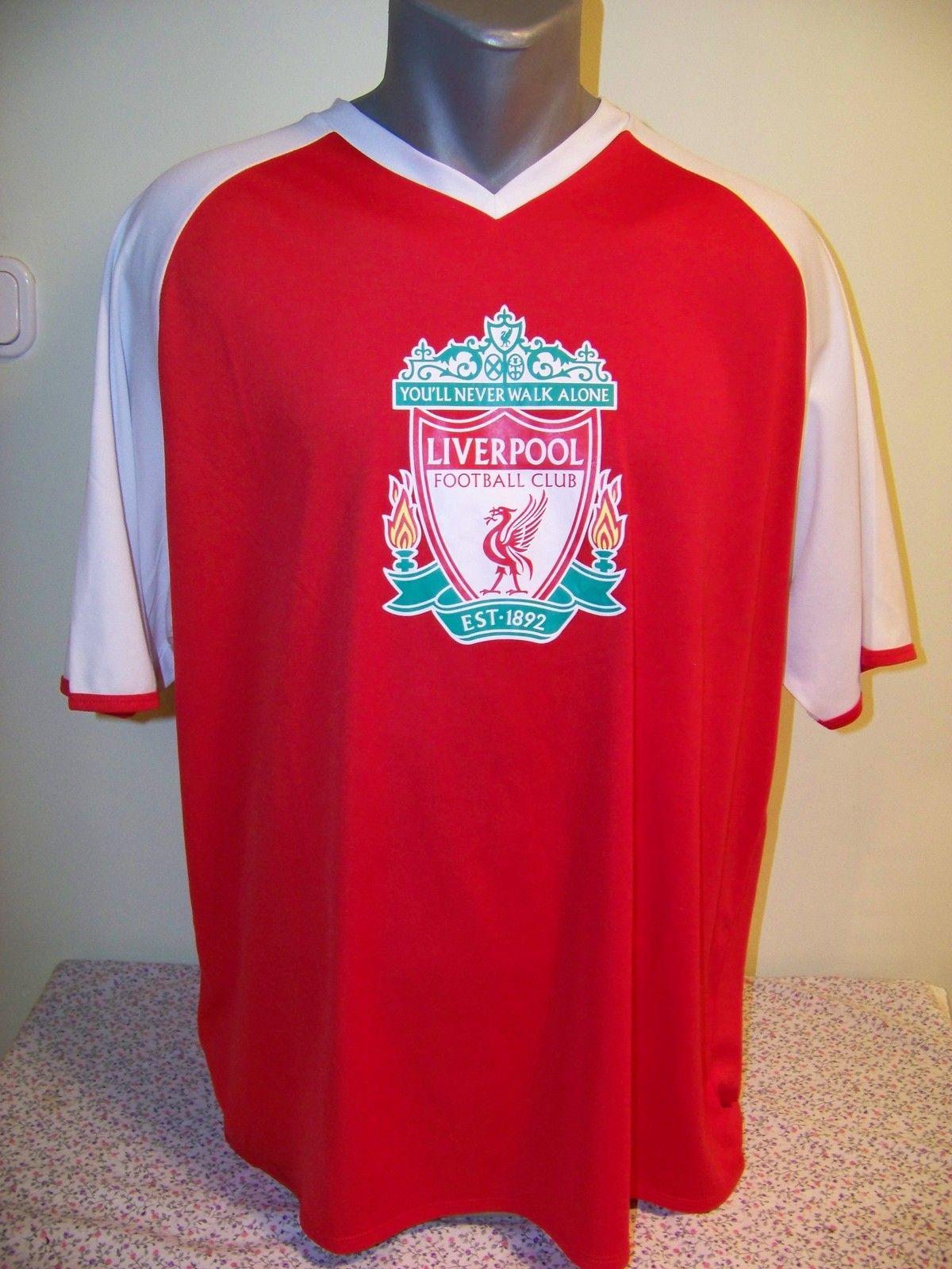 fd81c6658cdf EPL Premier League Liverpool FC Official Fan Soccer Jersey XL Reds ...