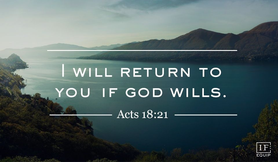 Image result for Image of Acts 18:21