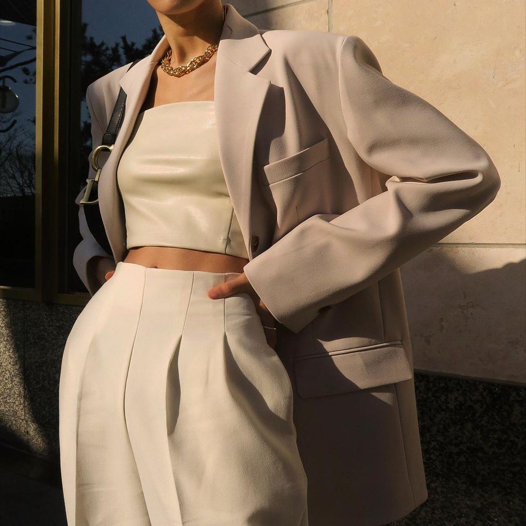 модная одежда на работу для девушек