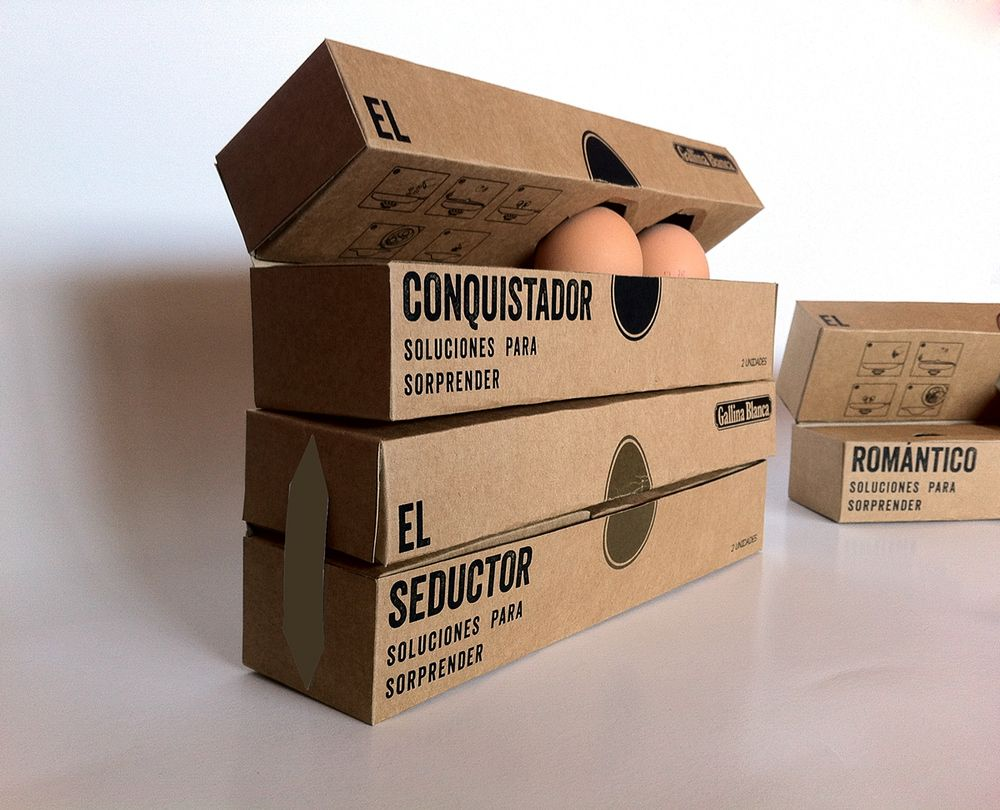 Sara Bertrán - Pack De Cocina   Packaging design, Egg packaging and ...