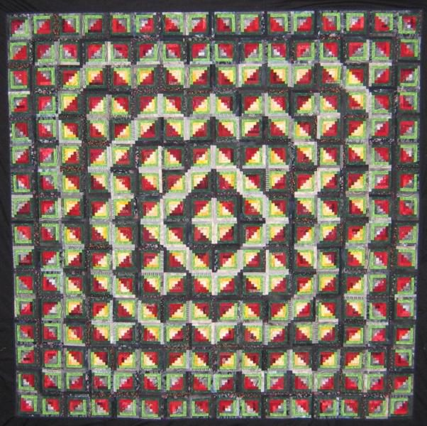 Queensland Quilters.  Logging On by Maree Blanchard