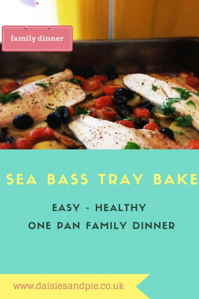 Sea Bass Tray Bake Recipe Easy Weeknight Meals Pinterest
