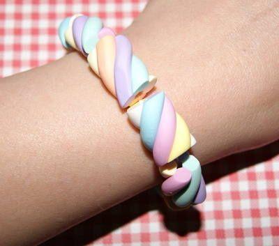 Fimo Flump Elasticated Bracelet