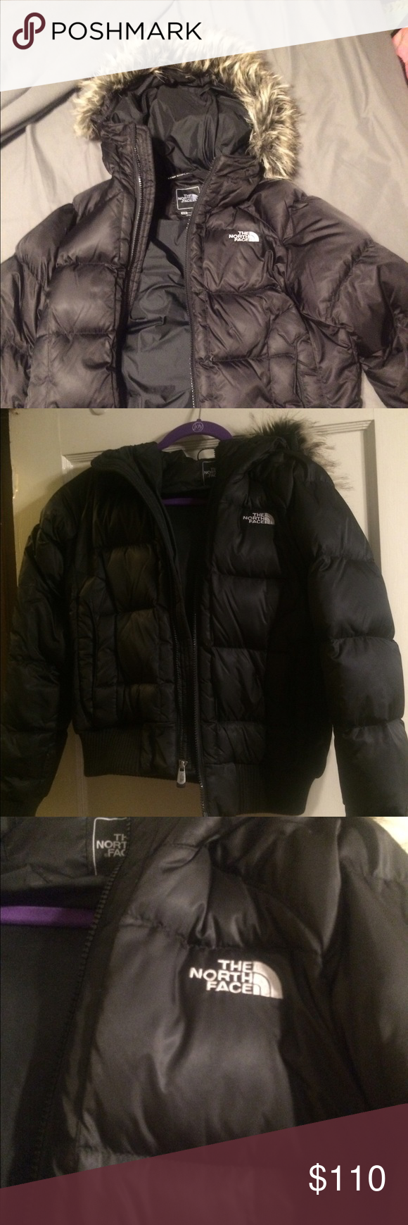 The North Face Bomber Style Puffy Winter Jacket Puffy Winter Jacket Winter Jackets Jackets [ 1740 x 580 Pixel ]