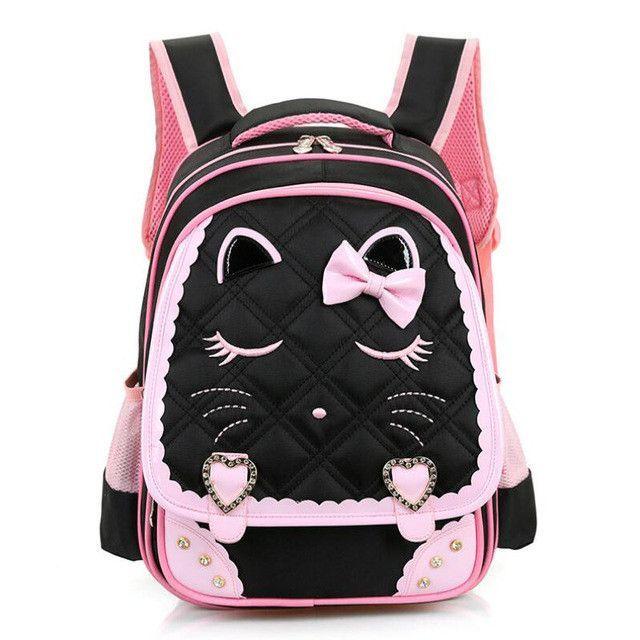 4287745d9e46 Kids Cartoon School Bags Children backpacks Waterproof Nylon girl  orthopedic school bag Printing Backpacks Book Bag Mochilas