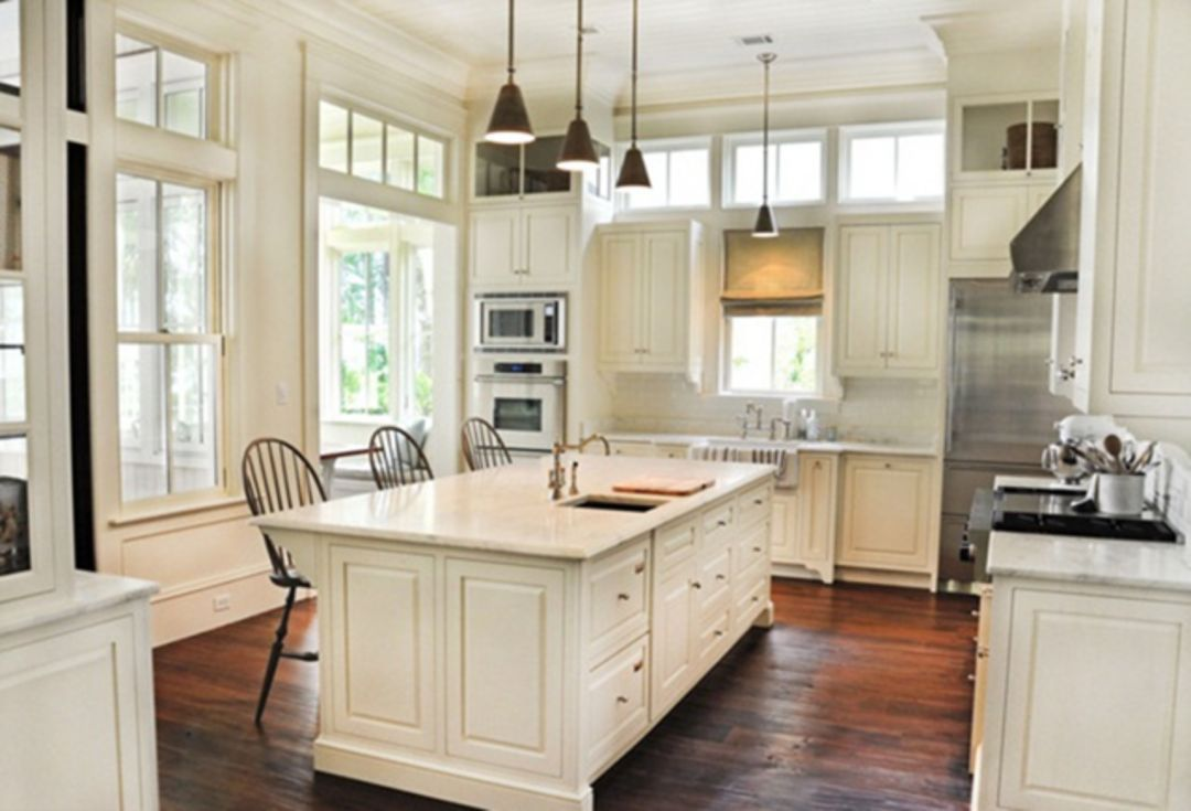 20 Awesome Classic American Kitchen Style Ideas For Your Home Kitchen Style Above Kitchen Cabinets Kitchen Design