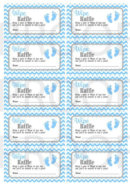 It's just a photo of Free Printable Baby Shower Raffle Tickets pertaining to cute