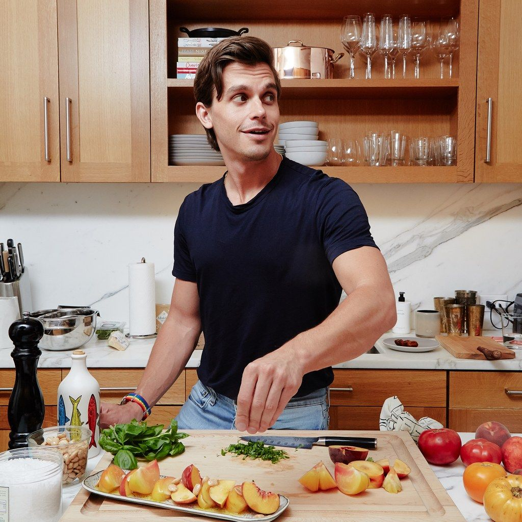 Inside Antoni Porowski S Luxurious White Marbled And Mostly Unused Kitchen Kitchen Food Processor Recipes I Love Food