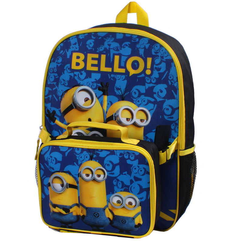 3134aa688dda Despicable Me Minion Backpack and Lunch Box | Products | Minion ...