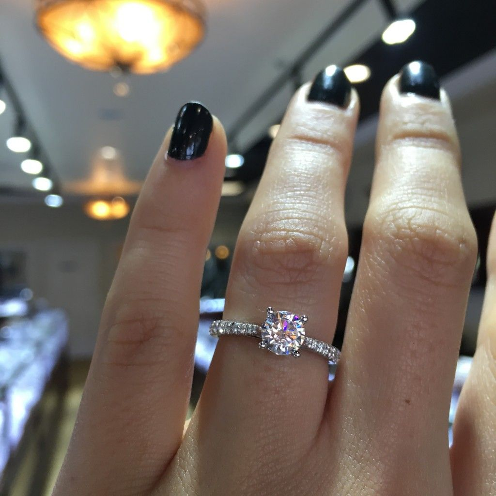 Gabriel NY solitaire engagement ring Engagement Rings Pinterest